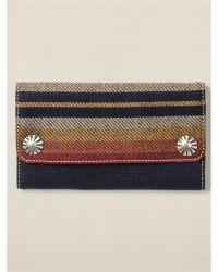 Ralph Lauren Indigo Striped Surveyor Wallet - Lyst
