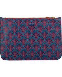 Liberty - Blue Pouch - Lyst