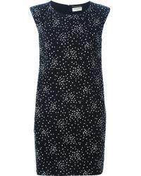 Saint Laurent | 'school Girl' Mini Dress | Lyst
