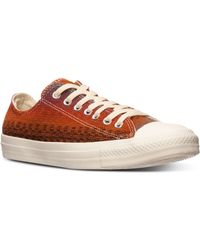 Converse Mens Chuck Taylor All Star Layer Casual Sneakers From Finish Line - Lyst