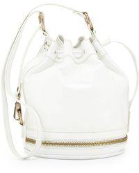 Via Spiga - Stef Zip-Detail Bucket Bag - Lyst