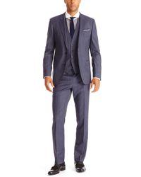 Hugo Boss Hugegenius  Slim Fit Super 100 Italian Virgin Wool 3-piece Suit - Lyst