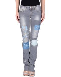 Just Cavalli | Denim Trousers | Lyst