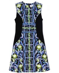 Peter Pilotto Blue Nova Dress - Lyst