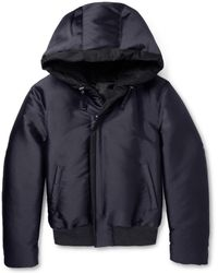 Lanvin Quilted Hooded Jacket - Lyst