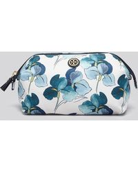 Tory Burch Cosmetic Case - Large Printed Molded - Lyst