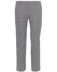 Weekend by Maxmara Geometric-Print Trousers - Lyst