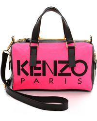 Kenzo Kanvas Speedy Bag - Rose Begonia - Lyst