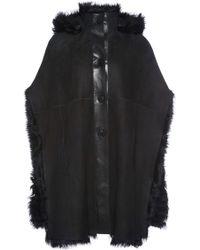 Sonia Rykiel Toscane Lamb Fur Cape - Lyst