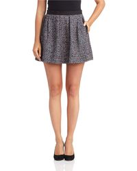 French connection Twill Skirt - Lyst