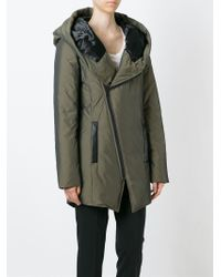 Unconditional - Off-centre Zip Padded Coat - Lyst