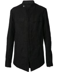 Lost and Found Black Long Jacket - Lyst
