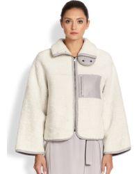 Altuzarra Manray Shearling Fleece Jacket - Lyst