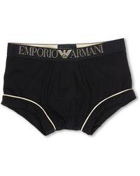 Emporio Armani Holiday Cotton Modal Trunk - Lyst