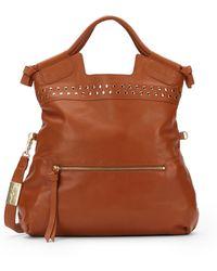 Foley + Corinna Mid City Studded Leather Bag - Lyst