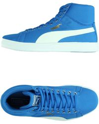 PUMA High-Tops & Trainers blue - Lyst