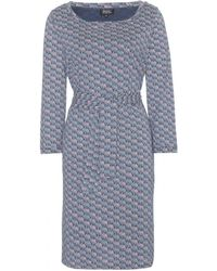 A.P.C. Formentera Printed Cotton Dress - Lyst