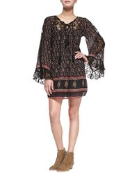 Free People Nomad Child Floral-print Voile Dress - Lyst
