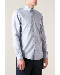 Mr Start Light Blue Micro Ring Shirt - Lyst