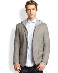 J.Lindeberg Textured Wool Sportcoat - Lyst