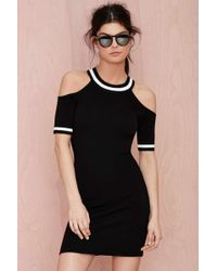 Nasty Gal Junior Varsity Cutout Dress - Lyst