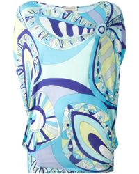 Emilio Pucci Flower Power Top - Lyst