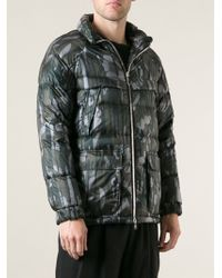 Moncler Gamme Rouge - Padded Camouflage Jacket - Lyst