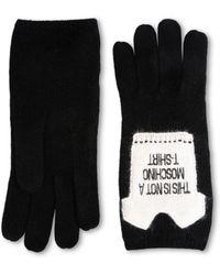 Moschino - Gloves - Lyst