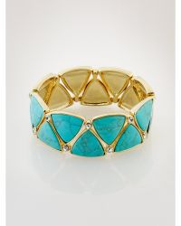 Ralph Lauren Turquoise-Hued Bracelet - Lyst