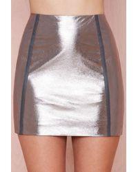 Nasty Gal Flashback Skirt - Lyst
