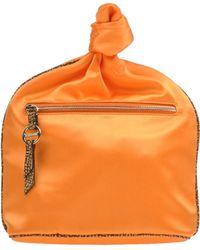 Borbonese Beauty Case orange - Lyst