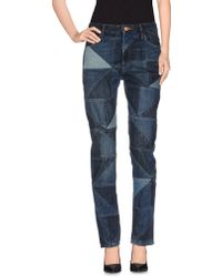 Étoile Isabel Marant Denim Pants blue - Lyst