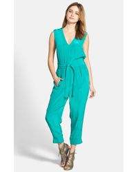 Plenty by Tracy Reese Sleeveless Jumpsuit - Lyst
