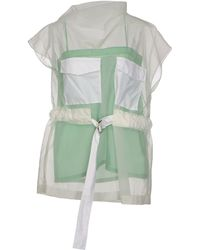 Celine Green Blouse - Lyst