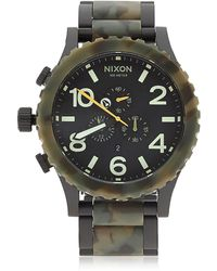 Nixon - The 5130 Chrono Watch - Lyst