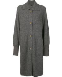 Theory Kenchy Sweater Coat - Lyst