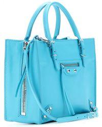 Balenciaga Mini Papier A4 Zip-Around Leather Shoulder Bag - Lyst