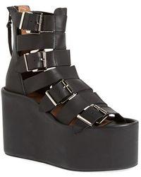 Jeffrey Campbell 'Achilles-H' Gladiator Platform Sandal - Lyst