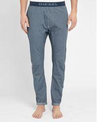 DIESEL | Blue Micro-pattern Pyjama Bottoms | Lyst