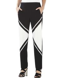 BCBGMAXAZRIA Repeat Slash-Pockets Trouser - Lyst