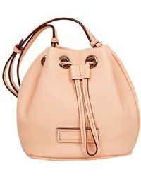 Marc By Marc Jacobs Mini Drawstring Tropical Peach - Lyst