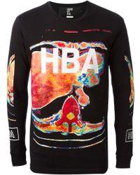 Hood By Air Black Printed Sweatshirt - Lyst