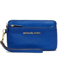 Michael Kors - Bedford Medium Leather Wristlet - Lyst