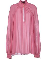 Gucci Pink Blouse - Lyst
