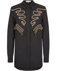 Stella McCartney Rope Detail Shirt - Lyst