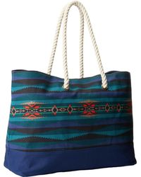 Pendleton Printed Canvas Tote - Lyst