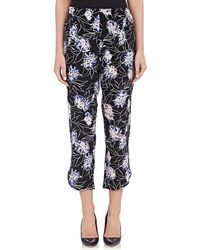 Thakoon Addition Vintage Floral Crop Trousers