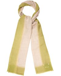Richard James Dip-Dyed Wool-Blend Scarf - Lyst