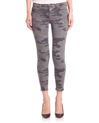 Hudson | Nico Camouflage Ankle Jeans | Lyst
