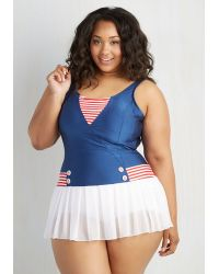 Fables By Barrie - All Adored! One-Piece Swimsuit In Plus Size - Lyst